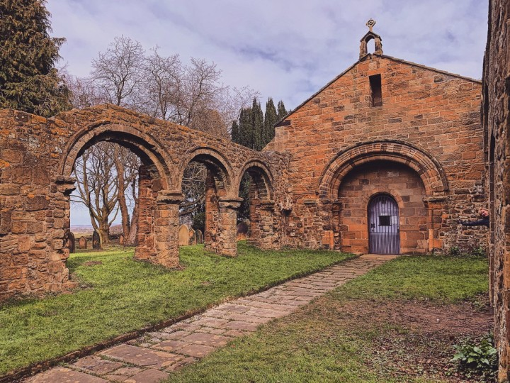 Whorlton Church; The Church of the HolyRood