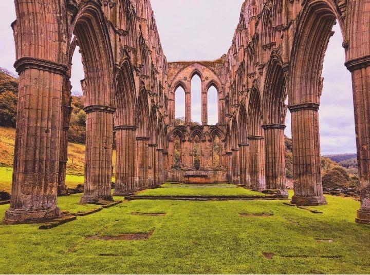 Historia Yorkshire! RievaulxAbbey